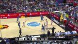 Eurobasket2015: Marco Belinelli in Italy vs Spain 105 98