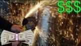 (BANI GĂSITE ÎN CONDIŢII DE SIGURANŢĂ A ABANDONAT BANCA) Cracare seifuri deschise în bancă abandonate!