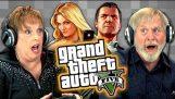 Старците играят Grand Theft Auto V