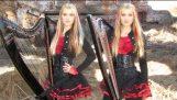 IRON MAIDEN – Paura del buio (Gemelli arpa elettrica) Camille e Kennerly