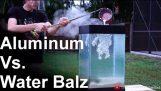 Ciekłego aluminium Vs ' Spitballs' – FAJNI!! (woda balz)