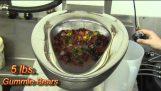 Test von Gefängnis Toilette Metcraft
