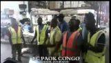 Οπαδοί του ΠΑΟΚ στο Κονγκό