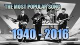 Popular songs from 1940 to 2016