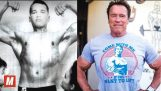 Arnold Schwarzenegger   From 17 To 69 Years Old