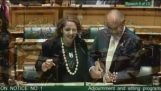 New Zealand parliament closes to Christmas ukulele song