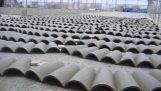 Como as telhas tradicionais são feitas
