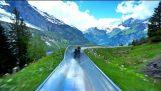Το τρενάκι στις ελβετικές άλπεις