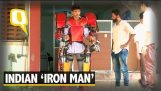 Indian students have created a functional Iron Man suit