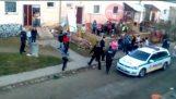 Polis Slovakya'da Roman Topluluğu'nu Saldırı
