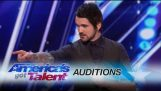 Colin Cloud: Real Life Sherlock Holmes Reads Minds – America's Got Talent 2017