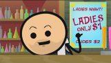 Ladies Night – Cyanide & Happiness Shorts