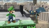 In Smash 4 Luigi always wins without having to do anything at all