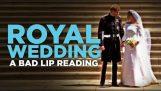Кралската сватба - лош Lip четене