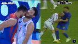 headbutt Ala Zidane en Kymi – Panionios