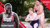 Sumo Wrestling with Conan O'Brien   Kevin Hart: What The Fit Episode 1