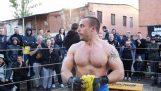 Russian Truck Driver vs MMA PRO Fighter!!