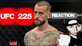 UFC 225 CM Punk vs MIKE JACKSON Live ! Reaction Review