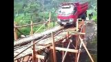 Truck Accident Bridge Collapse