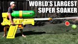 largest and most powerful water pistol in the world