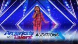 Angelica Hale: 9-Year-Old Singer Stuns the Crowd With Her Powerful Voice – America's Got Talent 2017