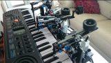 ในความปรารถนาปกเปียโนโดยเลโก้ Mindstorms EV3