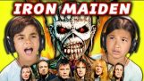 KIDS REACT TO IRON MAIDEN (Metal Music)