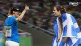 Cuando los griegos cooperan Juegos Olímpicos