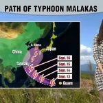 Ο τυφώνας MALAKAS απειλεί την Ιαπωνία