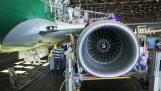 The steps of manufacturing a Boeing 737