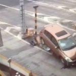 Ατύχημα στα διόδια