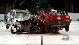 Nissan Tsuru 2015 contra el Nissan Versa 2016 (Prueba de choque)