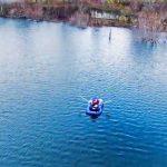 Το πείραμα με το λάδι στη λίμνη