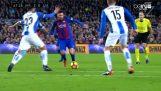 Οι μαγικές τρίπλες του Messi