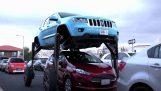 El coche que evita los atascos de tráfico