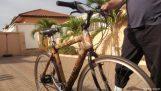 Bambus kola v Ghaně