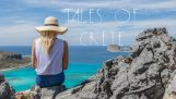克里特岛的美丽的人像照片