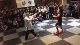 مقاتل MMA مقابل ماجستير في تاي تشي
