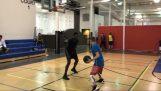"""""""Μαγικά"""" σε μονό παιχνίδι μπάσκετ"""