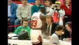 Hauska rituaali Michael Jordan