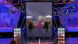 Οι δίδυμοι μάγοι στο America's Got Talent