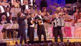 Ολλανδική ορχήστρα παίζει συρτάκι