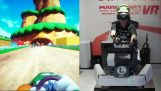 The Mario Kart in virtual reality