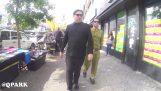 Ο Κιμ Γιονγκ Ουν στους δρόμους της Νέας Υόρκης