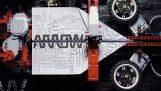 Μια μηχανή από Lego που κατασκευάζει σαΐτες