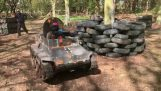 Mini Paintball tanke