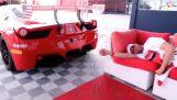 Despertar con un motor Ferrari