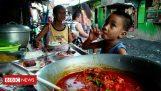 كيف يأكل من القمامة وبيعها مرة أخرى للفقراء (الفلبين)