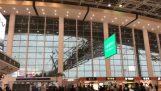 Η εξωτερική οροφή αεροδρομίου Nanchang Changbei στην Κίνα καταρρέει