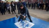 The demonstration of the first postal drone in Russia failed miserably